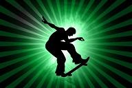 skateboarding pic