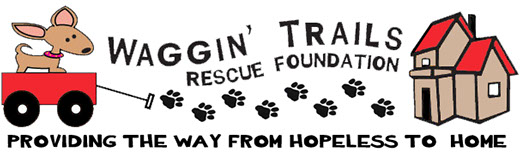waggin trails rescue foundation logo - final