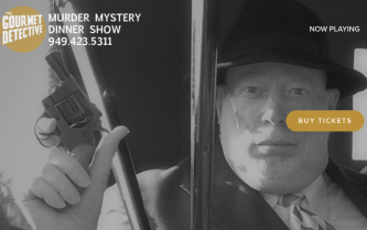 Gourmet detective comedy show costa mesa