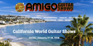 Socal world guitar show 2018 costa mesa