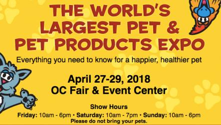 America's family pet expo costa mesa