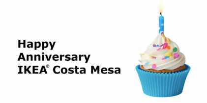 Ikea Costa Mesa anniversary