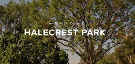 Halecrest park costa mesa
