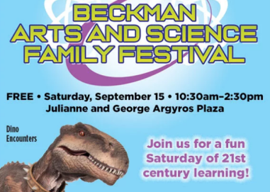 beckman arts and science festival