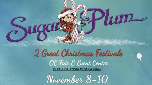 Sugar Plum Arts and Crafts Festival costa mesa