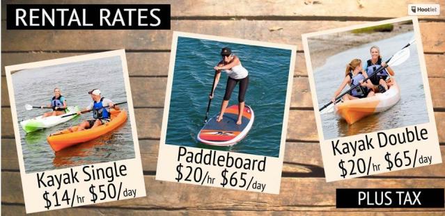 costa mesa kayak rental