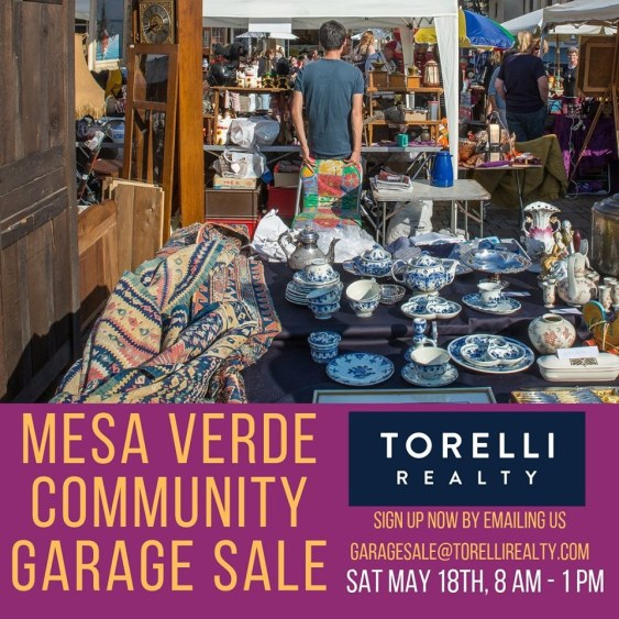 Mesa Verde Community Garage Sale